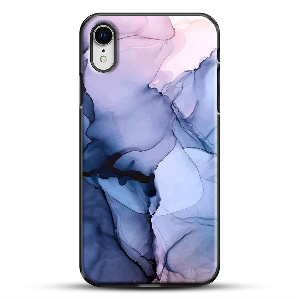 Captivating 1 Alcohol Ink Painting iPhone XR Case, Black Plastic Case | JoeYellow.com