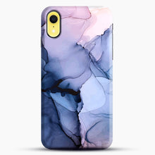 Load image into Gallery viewer, Captivating 1 Alcohol Ink Painting iPhone XR Case, Black Snap 3D Case | JoeYellow.com