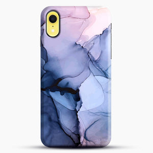 Captivating 1 Alcohol Ink Painting iPhone XR Case, Black Snap 3D Case | JoeYellow.com