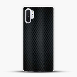 Carbon Fiber Graphics Samsung Galaxy Note 10 Plus Case, White Plastic Case | JoeYellow.com