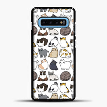 Load image into Gallery viewer, Cats Cats Cats Samsung Galaxy S10 Case