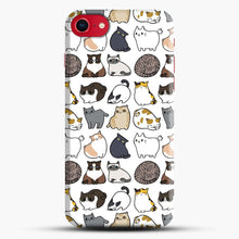 Load image into Gallery viewer, Cats Cats Cats iPhone 8 Case, Black Snap 3D Case | JoeYellow.com