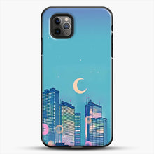 Load image into Gallery viewer, Classic Shoujo Skies iPhone 11 Pro Max Case, Black Plastic Case | JoeYellow.com