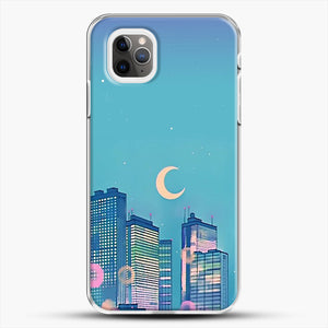 Classic Shoujo Skies iPhone 11 Pro Max Case, White Plastic Case | JoeYellow.com