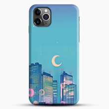 Load image into Gallery viewer, Classic Shoujo Skies iPhone 11 Pro Max Case, Black Snap 3D Case | JoeYellow.com