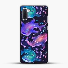 Load image into Gallery viewer, Cosmic Whale Shark Samsung Galaxy Note 10 Case