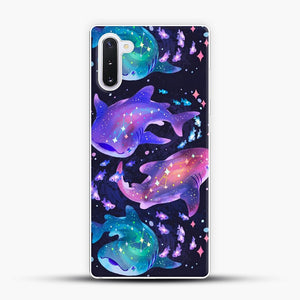 Cosmic Whale Shark Samsung Galaxy Note 10 Case
