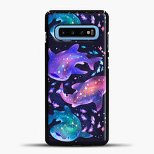 Load image into Gallery viewer, Cosmic Whale Shark Samsung Galaxy S10 Case