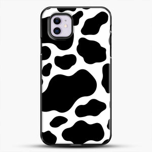 Cow Style iPhone 11 Case, Black Plastic Case | JoeYellow.com
