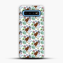 Load image into Gallery viewer, Cryptid Pattern Friends Samsung Galaxy S10 Case