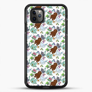 Cryptid Pattern Friends iPhone 11 Pro Max Case