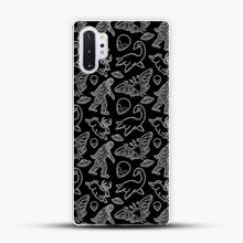 Load image into Gallery viewer, Cryptid Pattern Lines White Samsung Galaxy Note 10 Plus Case