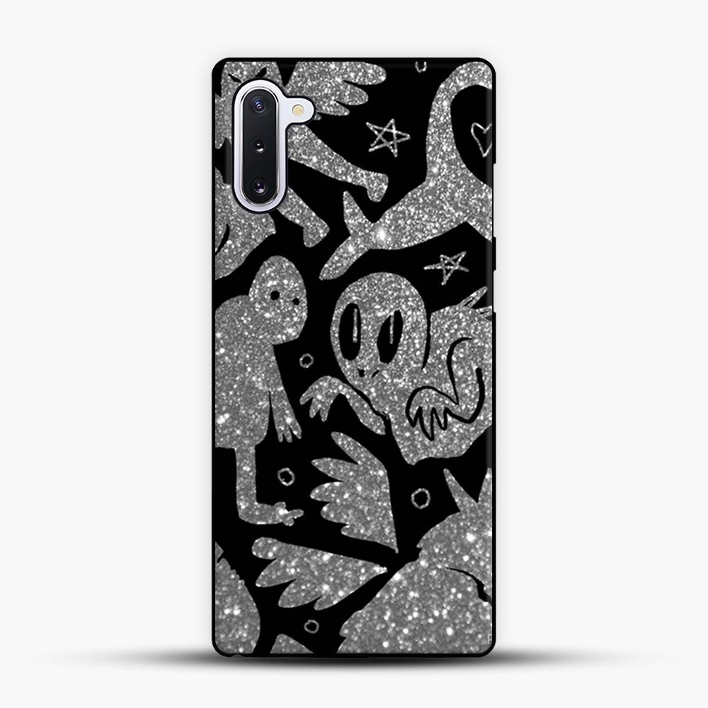 Cryptid Pattern Sparkling Samsung Galaxy Note 10 Case