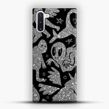 Load image into Gallery viewer, Cryptid Pattern Sparkling Samsung Galaxy Note 10 Case