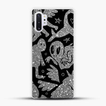 Load image into Gallery viewer, Cryptid Pattern Sparkling Samsung Galaxy Note 10 Plus Case