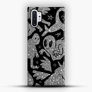 Cryptid Pattern Sparkling Samsung Galaxy Note 10 Plus Case