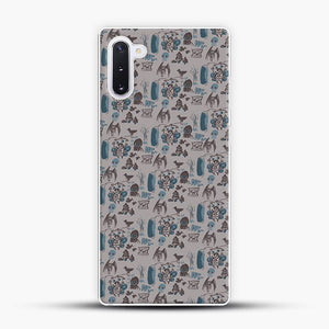 Cryptid Pattern West Virginia Samsung Galaxy Note 10 Case