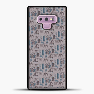 Cryptid Pattern West Virginia Samsung Galaxy Note 9 Case