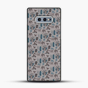 Cryptid Pattern West Virginia Samsung Galaxy S10e Case