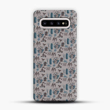 Load image into Gallery viewer, Cryptid Pattern West Virginia Samsung Galaxy S10e Case