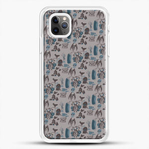 Cryptid Pattern West Virginia iPhone 11 Pro Max Case