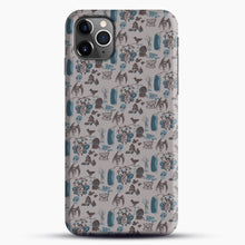 Load image into Gallery viewer, Cryptid Pattern West Virginia iPhone 11 Pro Max Case