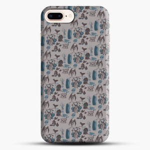 Cryptid Pattern West Virginia iPhone 8 Plus Case