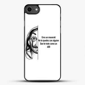 Dalí You Are A Maserati iPhone 7 Case, Black Plastic Case | JoeYellow.com