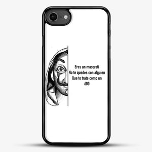 Dalí You Are A Maserati iPhone 7 Case, Black Rubber Case | JoeYellow.com