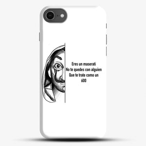 Dalí You Are A Maserati iPhone 7 Case, Black Snap 3D Case | JoeYellow.com