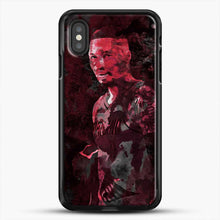 Load image into Gallery viewer, Damian Lillard One Nba Franchise iPhone XS Case, Black Rubber Case | JoeYellow.com