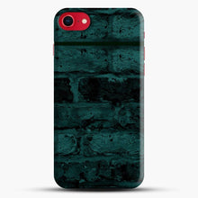 Load image into Gallery viewer, Darkgreen Hunter Green Brick iPhone 8 Case