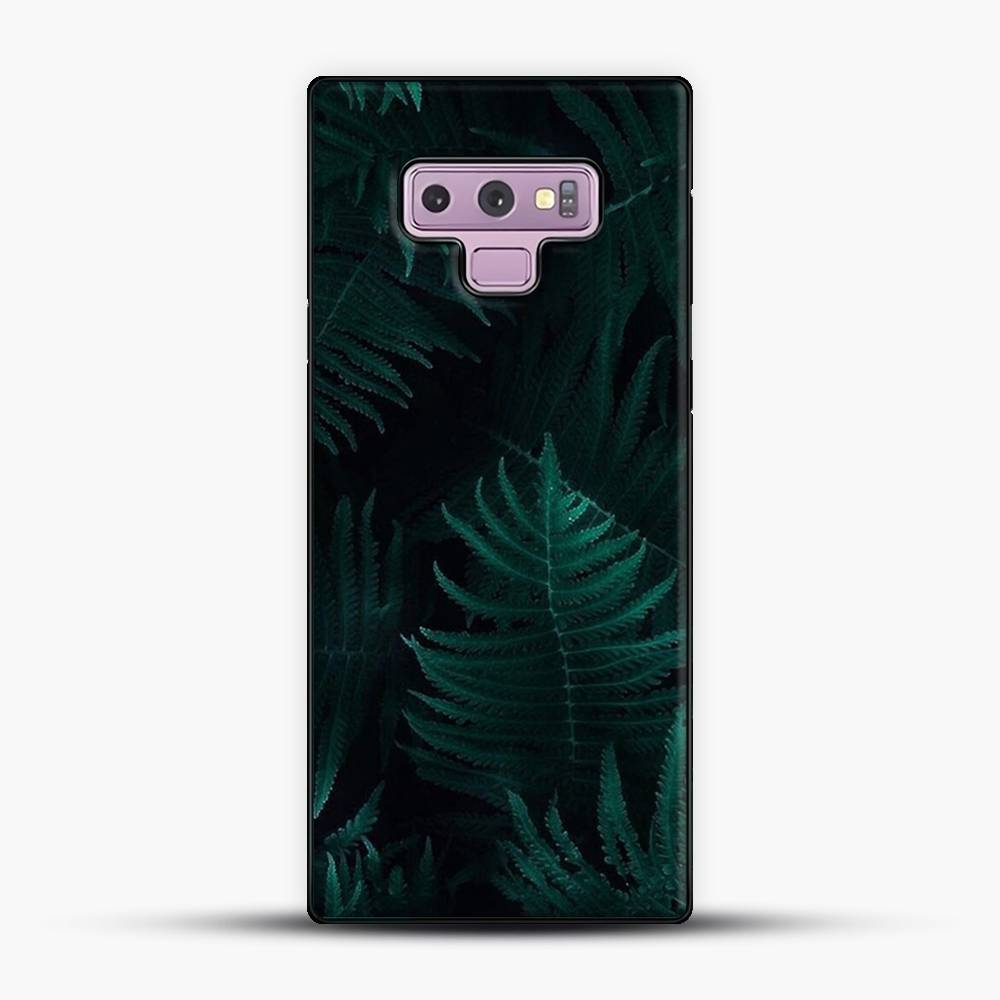 Darkgreen Leaf Samsung Galaxy Note 9 Case