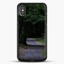 Load image into Gallery viewer, Darkgreen Shadowed iPhone X Case