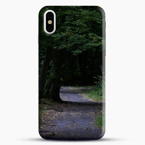 Darkgreen Shadowed iPhone X Case