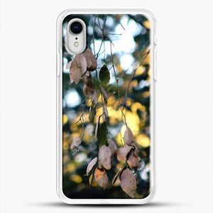 Dead Leaves Dappeled iPhone XR Case