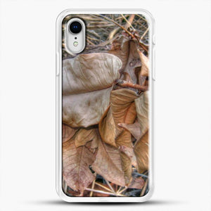 Dead Leaves Dried iPhone XR Case