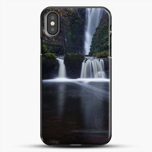 Dead Leaves Gam Waterfall iPhone X Case