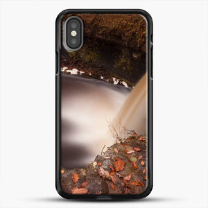 Dead Leaves Lady Falls iPhone X Case