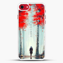 Load image into Gallery viewer, Dead Leaves Red Tree iPhone 8 Case