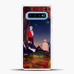 Dead Leaves Take Shelter Samsung Galaxy S10 Case