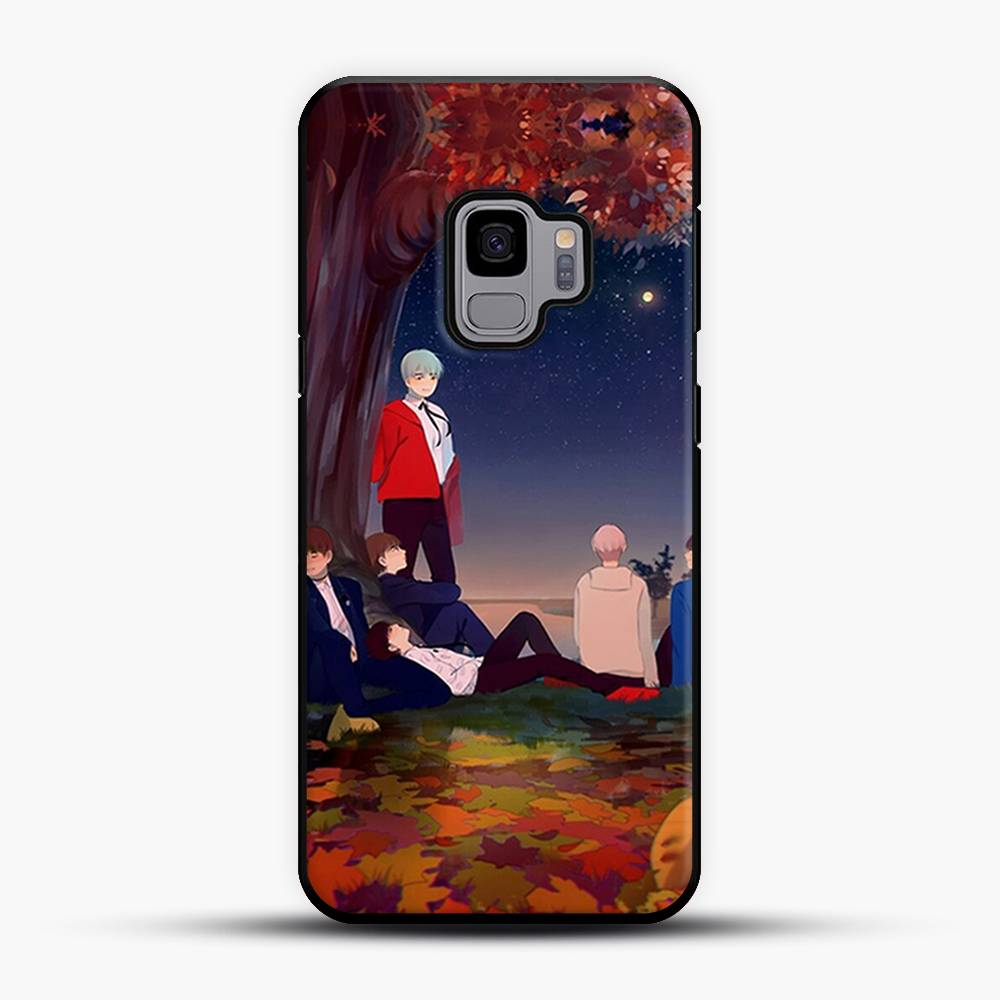 Dead Leaves Take Shelter Samsung Galaxy S9 Case