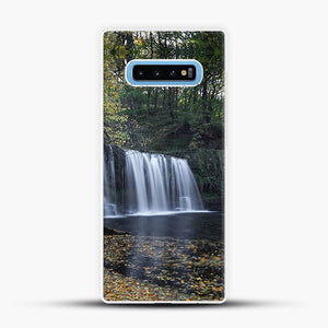 Dead Leaves Uchaf Waterfall Samsung Galaxy S10 Case