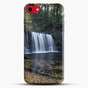 Dead Leaves Uchaf Waterfall iPhone 8 Case