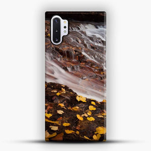 Dead Leaves Waterfall Country Samsung Galaxy Note 10 Plus Case