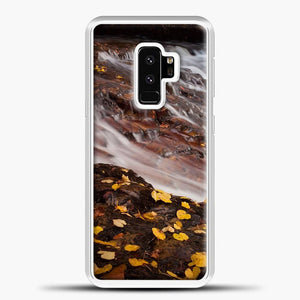 Dead Leaves Waterfall Country Samsung Galaxy S9 Plus Case