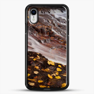 Dead Leaves Waterfall Country iPhone XR Case
