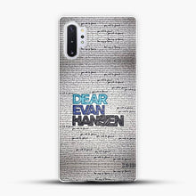 Load image into Gallery viewer, Dear Evan Hansen You Are You Quotes Samsung Galaxy Note 10 Plus Case