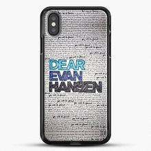 Load image into Gallery viewer, Dear Evan Hansen You Are You Quotes iPhone X Case