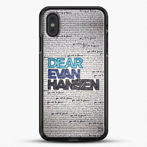Dear Evan Hansen You Are You Quotes iPhone XS Max Case